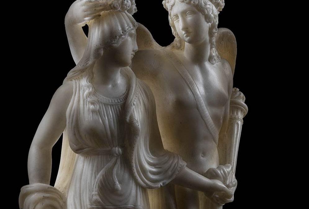 Cupid crowning PsycheGIOVANNI INSOM
