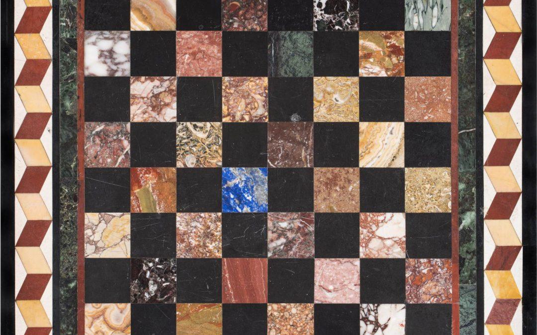 Chessboard FLORENTINE ART