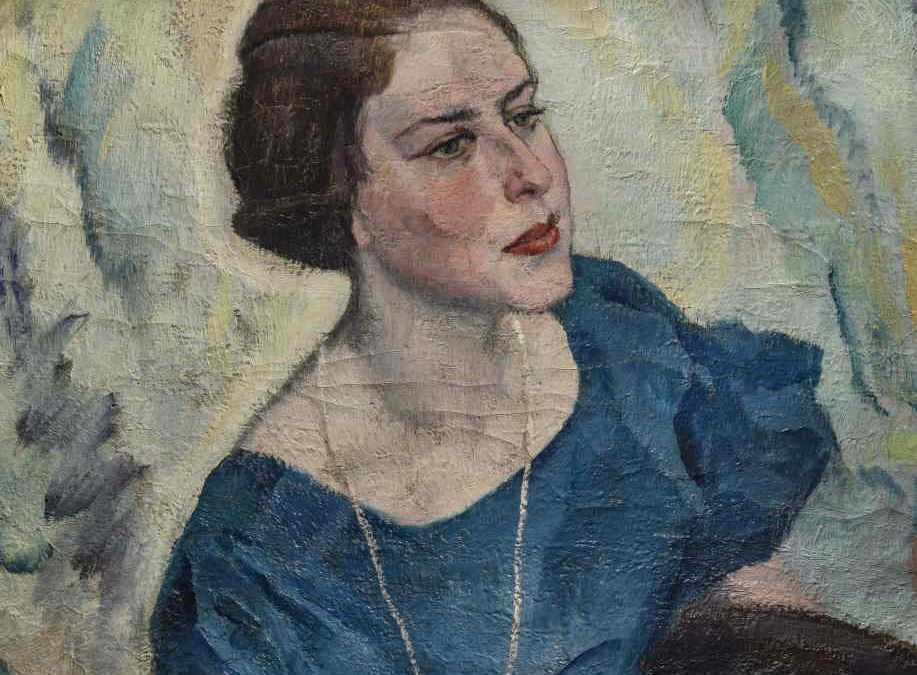 Portrait of a ladyJOHANN WALTER-KURAU
