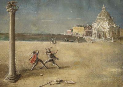 Harlequin duel RICCARDO MAGNI