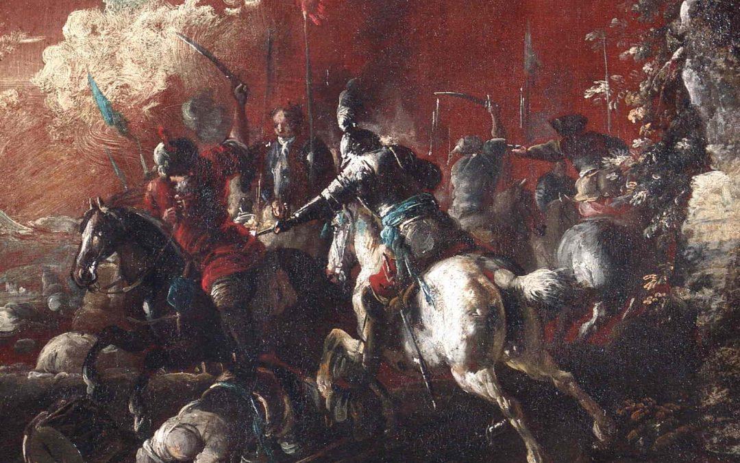Battle between Christian and Turkish KnightsMATTEO STOM